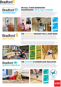 Download of the Bradford Batts Insulation Product Brochure - pdf