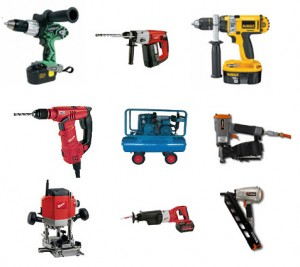 Power tools supplies for the Sydney building industry