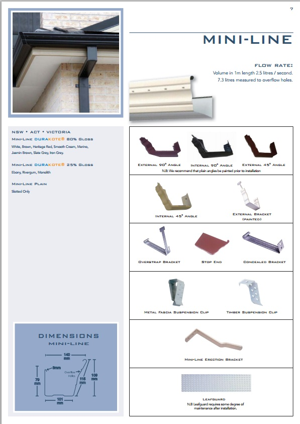 Ace Gutters Product Range Supplies Sydney No1 Roofing