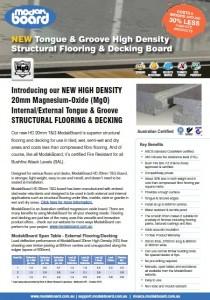Modak Board Flooring Board Brochure