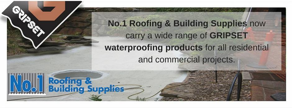 Gripset Waterproofing Supplies
