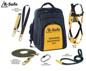 B Safe Roofers Harness Kit