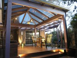 Backyard Outdoor Living Area - Roof