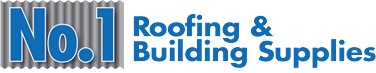 No.1 Roofing logo