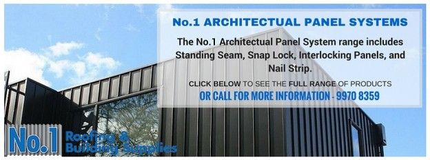 Standing Seam Cladding & Roofing by No.1 Roofing Supplies Company