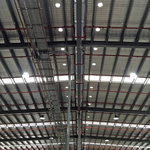 Factory with SkyVent Installed
