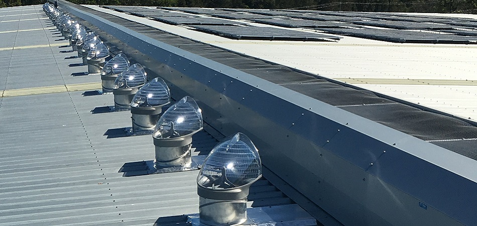 Skyvent, Ventilated Skylights 80 Units installed in Queensland