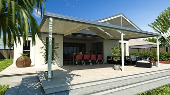Lysaght Living Collection for Pergolas, patios and verandahs