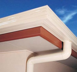 ACE Gutters Square Line Gutter