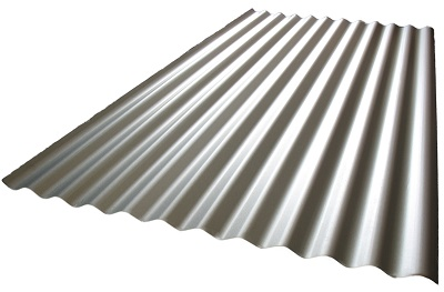 Corrugated Colorbond roofing sheets