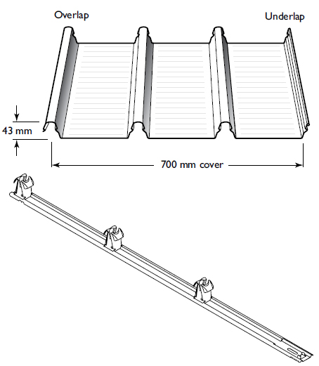 Klip-Lok 700 Hi-Strength Roofing Profile