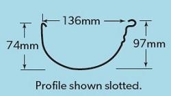 LYSAGHT Gutters Flat Back Gutter Specifications