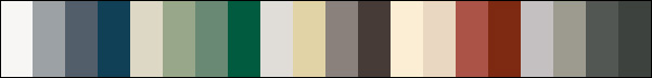 LYSAGHT Colour Chart