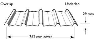 Trimdek Roofing Profile