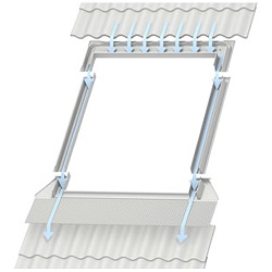 Velux Skylight Flashing Kit