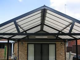 Polycarb Gable Roof