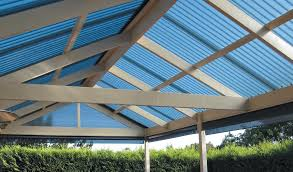 Polycarbonate Gable Roof