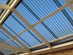 Translucent Skillion Roof