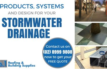Stormwater Drainage Products and Systems