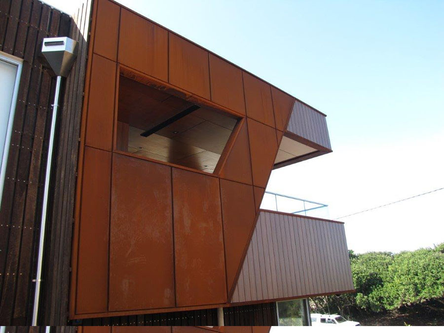 Corten Cladding for Walls and Roofing