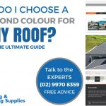 Choose a Colorbond colour