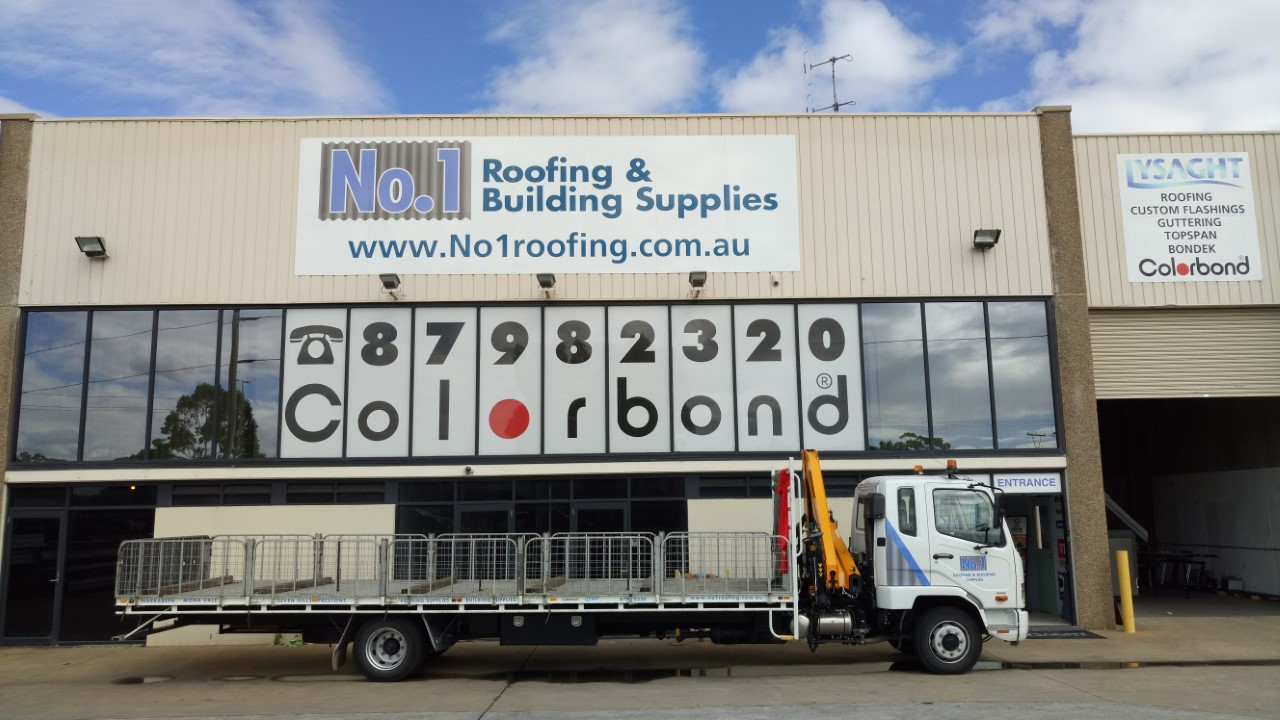 No1 Roofing Store Sydney