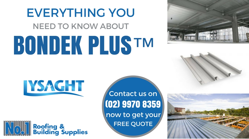 Bondek 174 Suppliers Sydney For Structural Decking Amp Ceiling