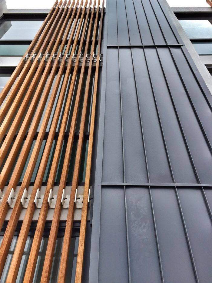 Standing Seam Nailstrip Colorbond 2