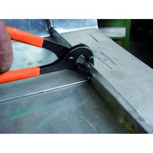 Seam opening pliers