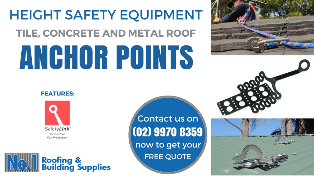 Roof Anchor Points Safety Equipment Amp Fall Protection