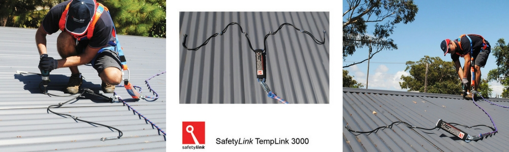 Temporary Roof Anchors safety equipment by SafetyLink