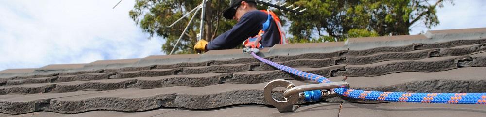 Tile roof anchor points TileLink by SafetyLink