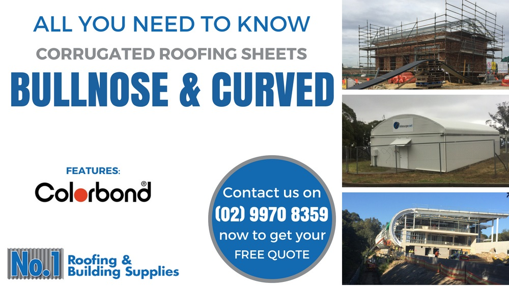 Bullnose and Curved Roofing - All you need to know