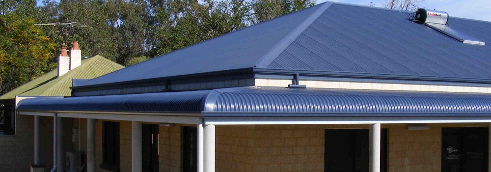 Bullnose profile provides the perfect classical heritage look for verandahs, patios and even carports