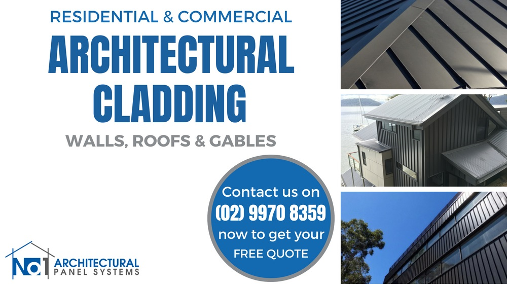 ARCHITECTURAL CLADDING SYSTEMS FOR WALLS, ROOFS AND GABLES