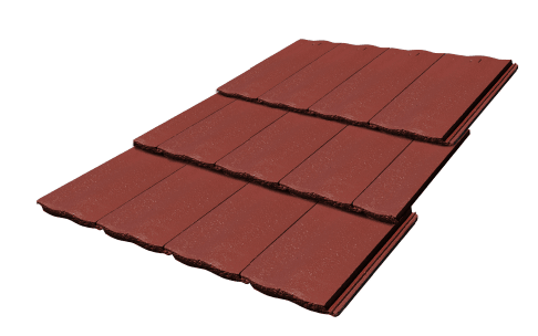 Concrete Tiles Atura Chilli Colour