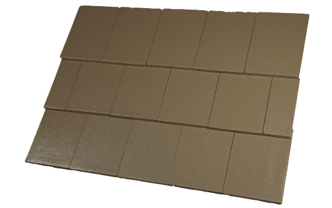 Concrete Tiles Hozion Aniseed Colour