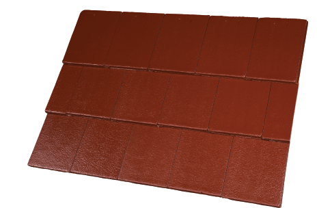 Concrete Tiles Hozion Chilli Colour