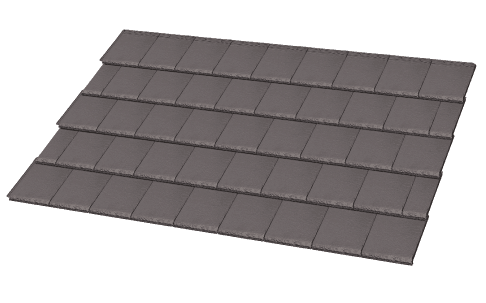 Elemental Tiles Slate Graphite Colour