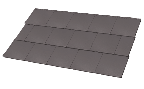 Elemental Tiles Square Graphite Colour