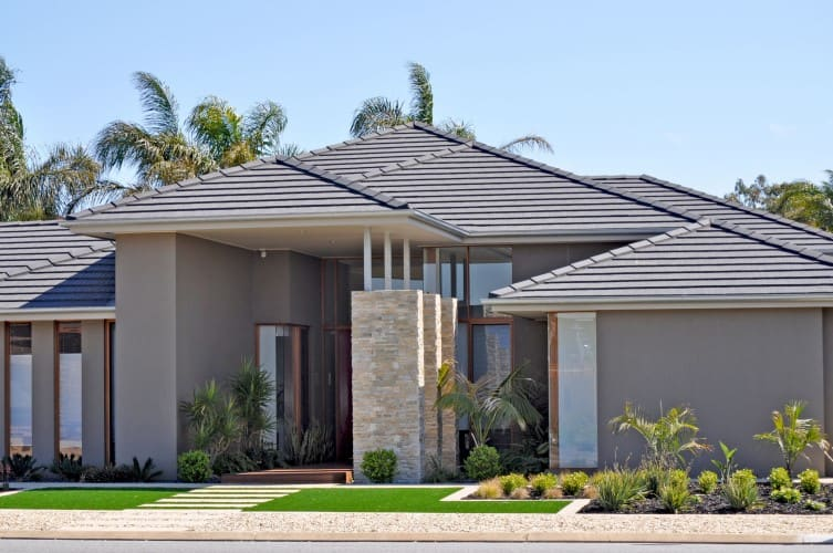 MONIER ROOF TILES - CONCRETE GEORGIAN ROOFING TILES