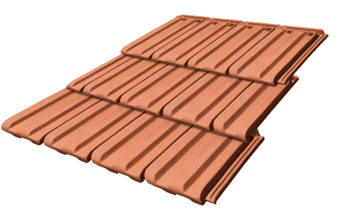 Terracotta Tiles Nouveau Earth Colour