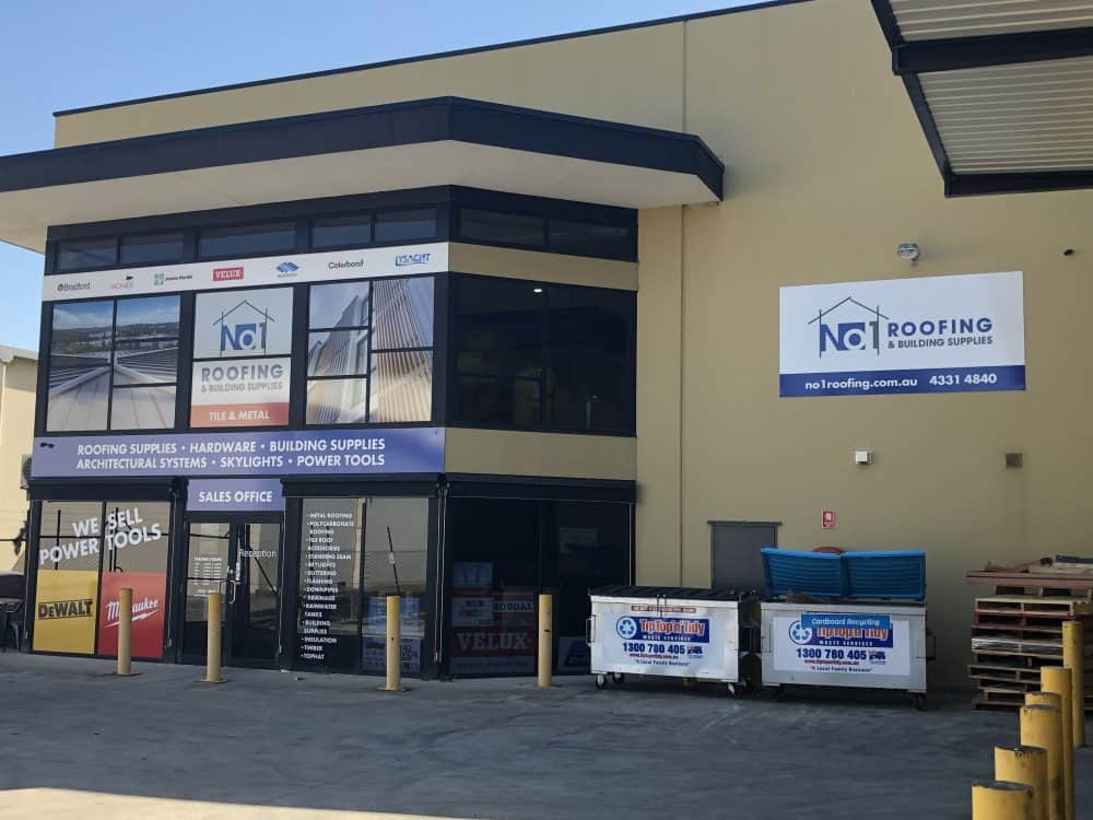 No1 Roofing and Building Supplies New Store Central Coast