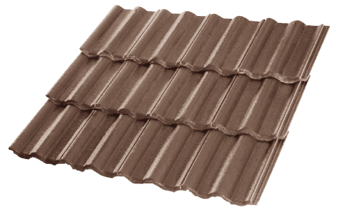 Concrete Tiles Centurion Chocolate