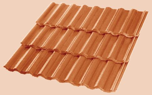 Concrete Tiles Centurion Saffron