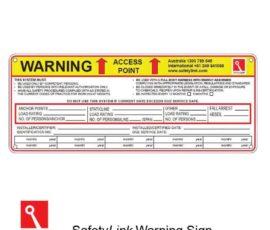 Worksite Warning Sign