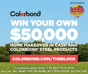 The Block - Colorbond Competition 2019