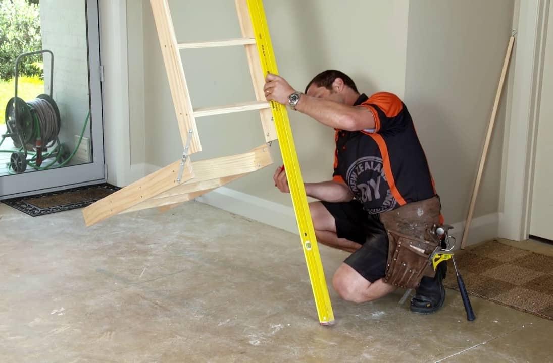 Installation of Attic Ladders