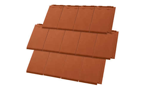 Terracotta Tiles Urban Shingle Colour Earth
