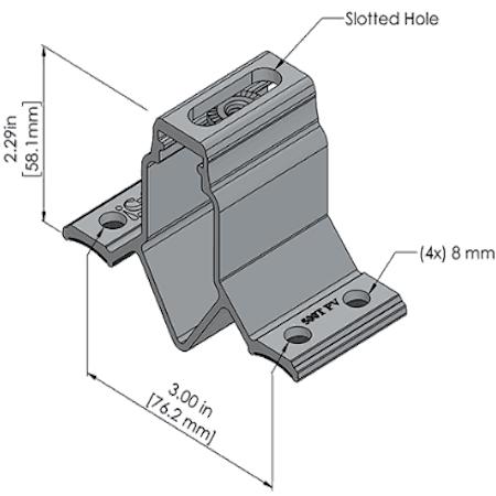 500T PV Dimensions